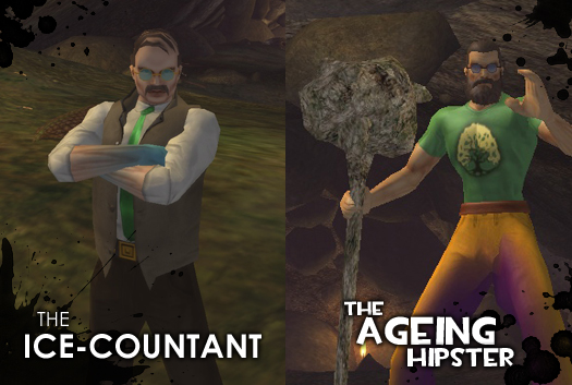 The Ice-Countant and The Ageing Hipster